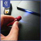 Мягкий миниый PVC СИД Keychain таможни ключевой цепи снежного человека