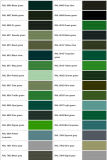 Rivestimento della polvere (verde verde oliva)