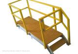 Системы поручня FRP, проступи лестницы, прокладывая рельсы штуцеры, отлили Grating платформу в форму