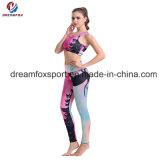 Custom Sublimated красочные фитнес-йога брюки женщин вплотную заняться йогой износа
