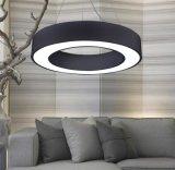 Nova ronda moderno na luz de tecto LED Lâmpada Pendente de acrílico