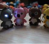 Пользовательские рекламные смешные Panda форму LED цепочки ключей с THK-012