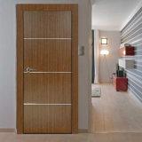 白い固体コアMDFの内部ドア