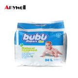 非編まれたBreathable Sheet Diaper Babyファブリック王の使い捨て可能なおむつ