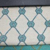 Ligados jacquard hilado teñido de poliéster textil hogar Sofá almohada Tapizados