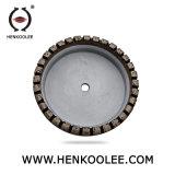 Taille personnalisée de haute qualité de fer pour le verre de Meule abrasive