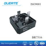 Puente rectificador monofásico Br 75A con la norma ISO 1600 V9001