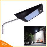 IP65, 1000 Lumen LED de 81 de la calle solar integrada en el exterior de la luz de sensor de movimiento lámparas solares