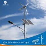 Fabricante Ce/RoHS/FCC las hojas de la turbina de viento híbrido solar Calle luz LED