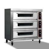 Commercieel Brood die tot Machines maken de Elektrische Oven van het Baksel van het Dek van de Pizza van het Gas