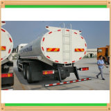 8X4 Rhd Shanqiのアルミ合金の燃料タンクのトラック