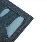 卸売価格絶妙なロゴによってカスタマイズされるPUの革荷物の札昇進PUの荷物の札