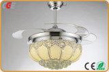 Minides ventilator-LED helle Decken-Ventilator-Lampen-intelligente Heimlichkeit-dekoratives Decken-Ventilator-Innenlicht Ventilator USB-LED