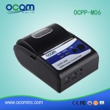 impressora térmica móvel sem fio do recibo de 58mm mini