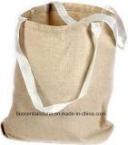 I prodotti della fabbrica della Cina hanno personalizzato il sacchetto di acquisto stampato marchio del Tote della tela di canapa del cotone