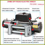 도로 전기 윈치 떨어져 12000lbs 간단한 운영