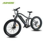 [1000و] [بفنغ] وسط محرك إطار العجلة سمين درّاجة كهربائيّة مع يخفى بطارية