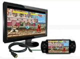 Gold überzogenes Spiel-Spieler HDTV xBox 360 HDMI Kabel