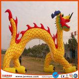 per la vendita a buon mercato liberare l'arco gonfiabile del drago di disegno