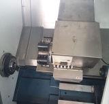 Herramienta de máquina horizontal completamente automática del torno de la precisión del CNC con el residuos de mezcla