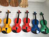 Beginner переклейки цвета практики голубой ягнится ODM OEM скрипки