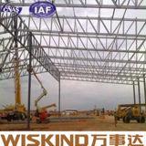 Almacén del marco de la estructura de acero con el panel de emparedado de la PU