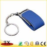 Kundenspezifischer Firmenzeichen USB-Speicher-Stock-Metall-USB-Blitz-Laufwerk USB mit Ring