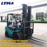 Petit chariot élévateur chinois d'essence de LPG de 2.5 tonnes