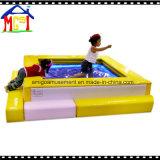 Juego de juegos comerciales en interiores a los niños El juego blando juguete bebé barco