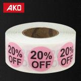 20 процентах 50 процентной скидки наклейки наклейки для продажи с возможностью горячей замены