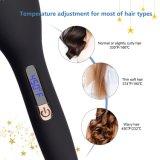 Жк-дисплей автоматическое отключение утюга щетки для выпрямления волос (Q20)