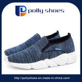 最新のカスタムスポーツの人および女性のための連続した安全ズック靴