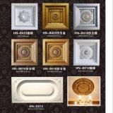 Decke deckt PU-quadratisches Decken-Medaillon/Rosette Hn-B013 mit Ziegeln