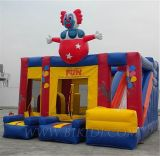 Casa inflável do salto do palhaço (B3042)