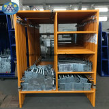 Bewegliche Typen des Aluminiums gestaltet Stahlstrichleiter-Baugerüst
