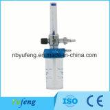DIN/BS Sauerstoff-Strömungsmesser mit Befeuchter-Flasche