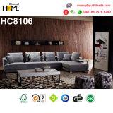 2017 새로운 우아한 디자인 현대 직물 소파 (HC8106)
