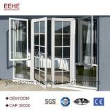 外部価格のためのカスタムアルミニウムヒンジのガラスドア