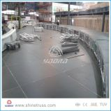 Aluminiumim freienkonzert-Stadiums-justierbares Stadiums-Plattform-Brückeen-Stadium für Verkauf
