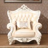 Königliche ledernes Sofa der Art-1+2+3, Europa-neues klassisches Sofa (169)