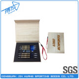 Caixa personalizada do dardo do presente do papel Handmade para o tungstênio/dardo de bronze