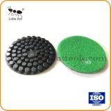 De 4 polegadas de alta qualidade almofada de polir concretas para uso Seco/Úmido