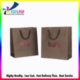 Hot Stamping OEM Logo mayorista Diseño bolsa de regalo de papel