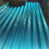建築材料のためのカラーによって塗られる電流を通された波形の鋼板