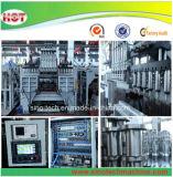 PET füllt die Plastiköl-Flasche, die Blasformen Machinery/0.5L 1L 2L bildet, Strangpresßling-durchbrennenmaschine ab