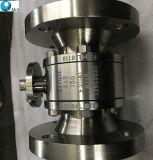 L'OEM ha personalizzato la perdita zero dell'acciaio inossidabile A182 F51 di Supler ha flangiato valvola a sfera di galleggiamento con coppia di torsione bassa
