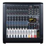 DJ Mixer com EQ 3 Bandas cada canal e reprodução de Bluetooth