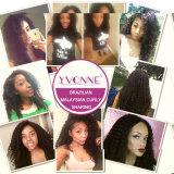 бразильское выдвижение 100% человеческих волос Remy волос девственницы 7A