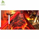 Дримленд высокого качества и вулкан слайд, горячая продажа детей вулкан скалолазание игры
