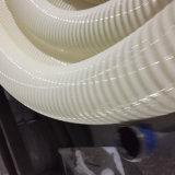 Manguito reforzado industrial espiral del tubo de la irrigación de la succión del PVC